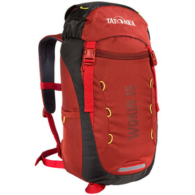 Tatonka Wokin 15 Backpack Kids redbrown